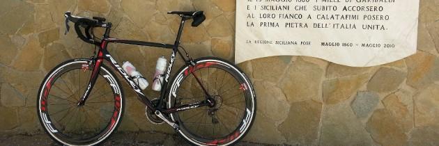 """Garibaldi and his """"mille"""", a ride to the Pianto Romano near Calatafimi"""