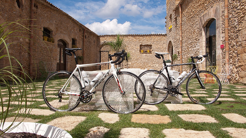 The Ridley Fenix and Ridley Orion road bikes