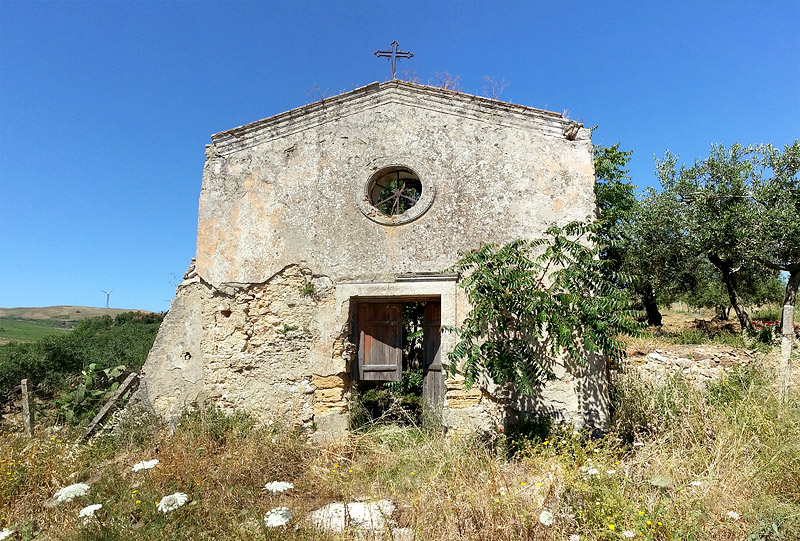 An old church in the countryside