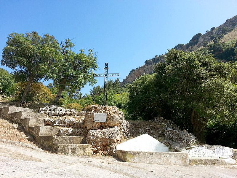 At the Santuario Madonna del Furi