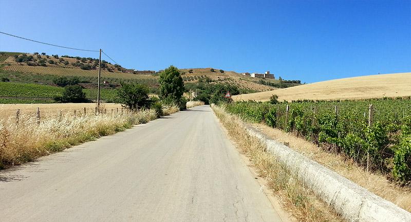 A short climb near San Cipirello and San Giuseppe Jato