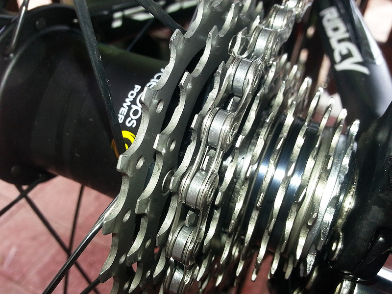 The end result: a clean cassette