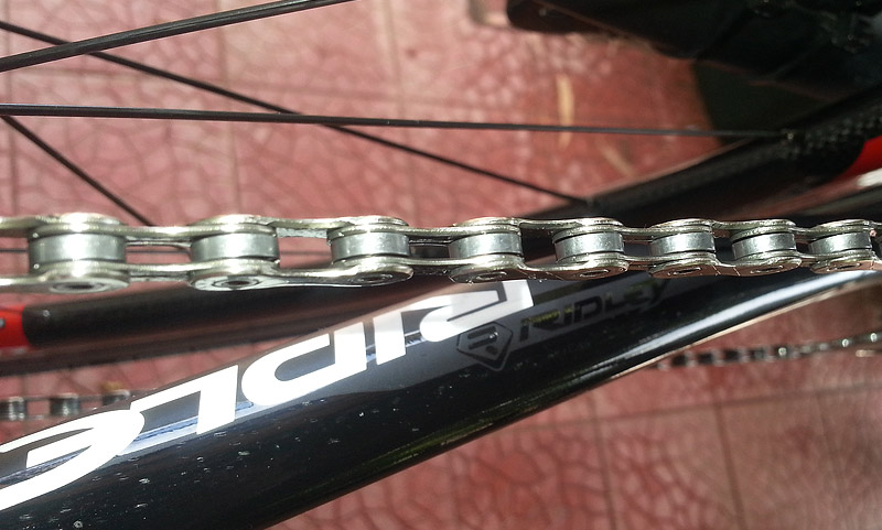 The end result: a clean chain