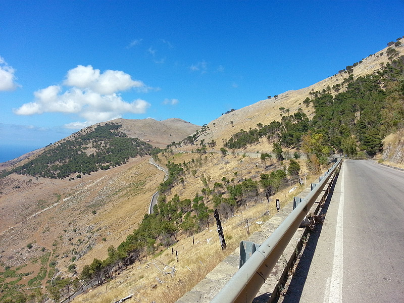 Near the town of Torretta