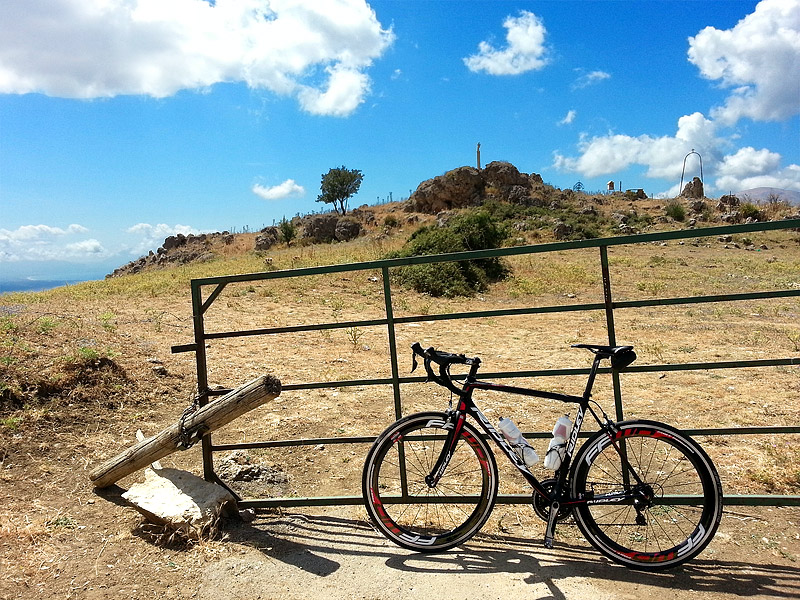My Ridley Helium SL in the mountains near Sagana