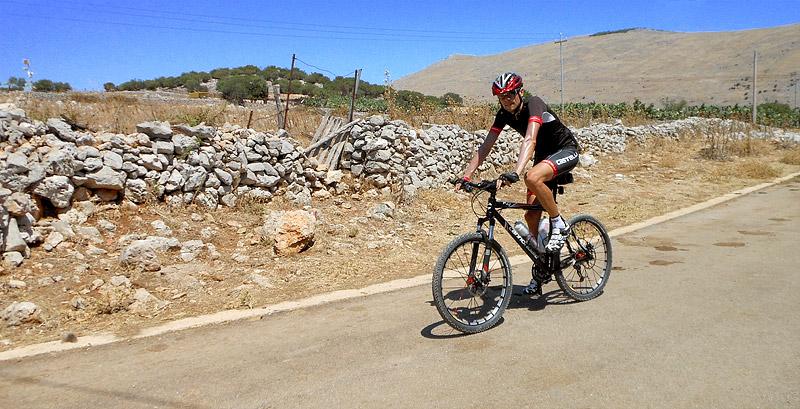 Exploring the mountain roads near Piano Margi, Sicily