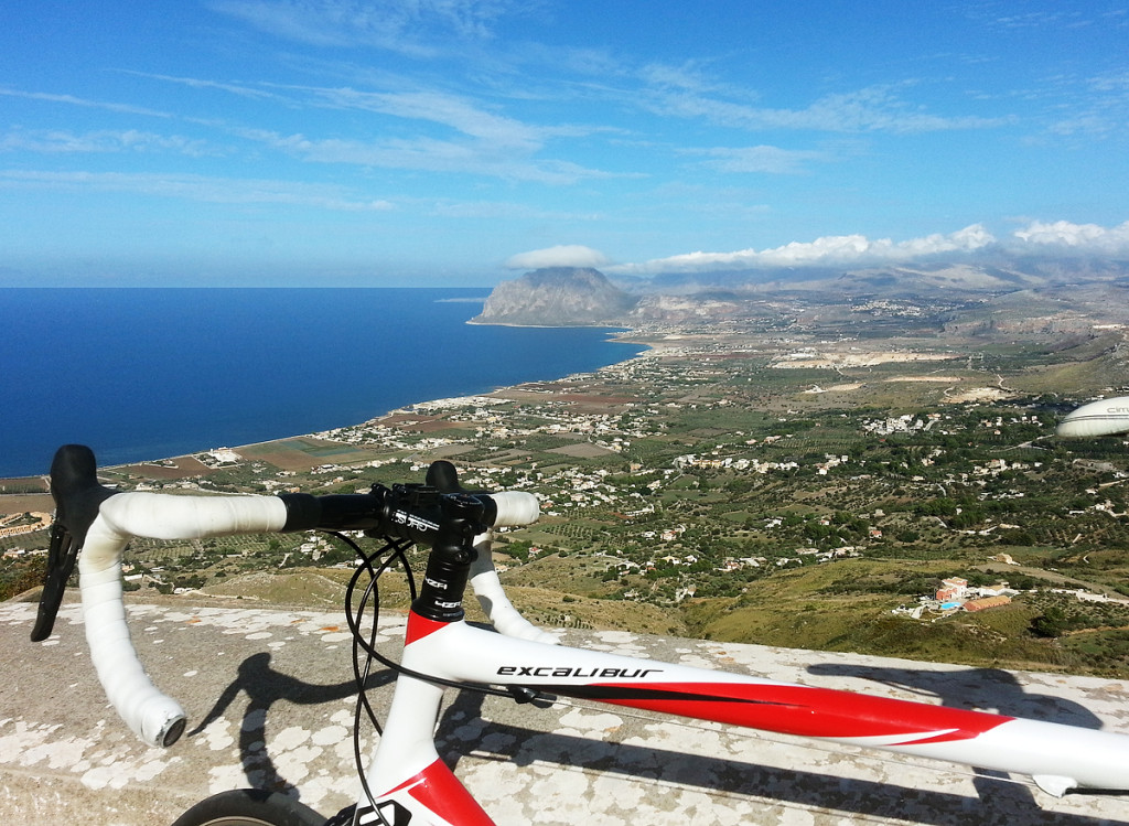 On the climb to the Medieval town of Erice