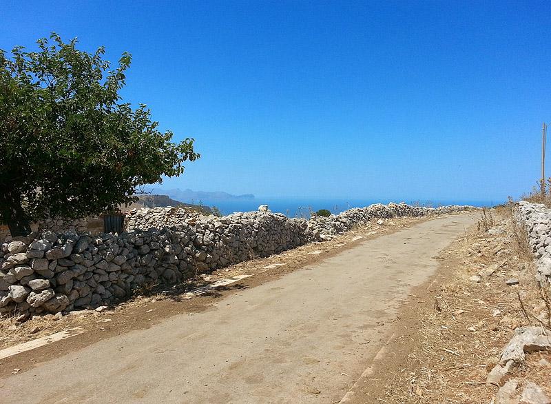 In the mountains near Piano Margi, Sicily