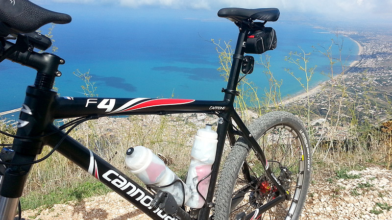 My Cannondale F4 at the panoramic point.