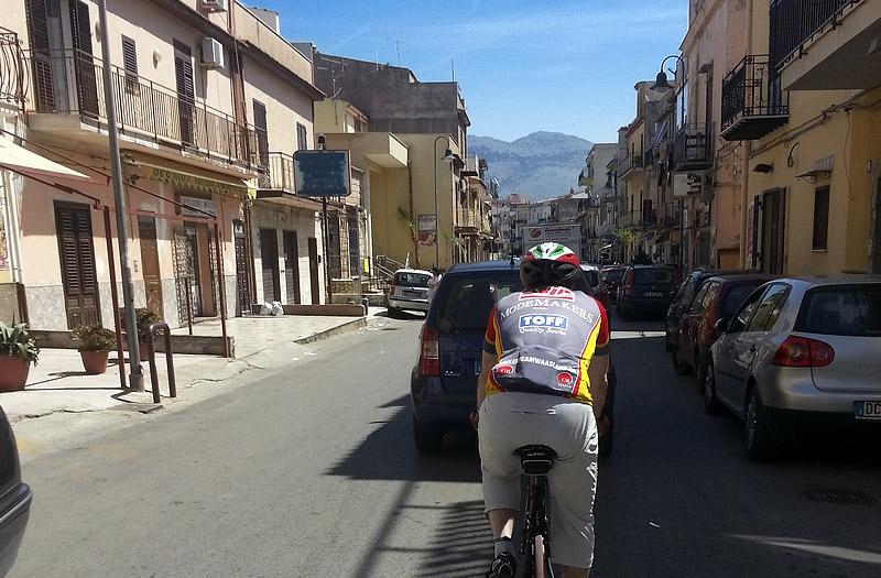 In the town of Villagrazia di Carini