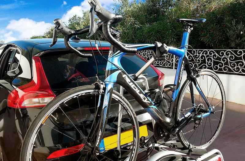 Joost's bike, a Ridley Noah