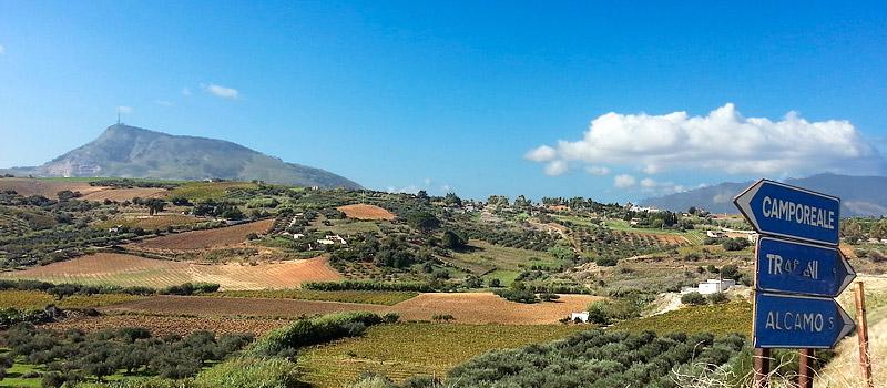 Monte Bonifato in the distance.