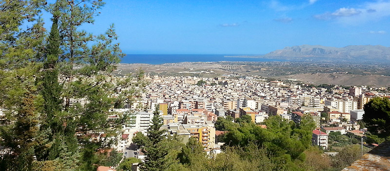 The town of Alcamo