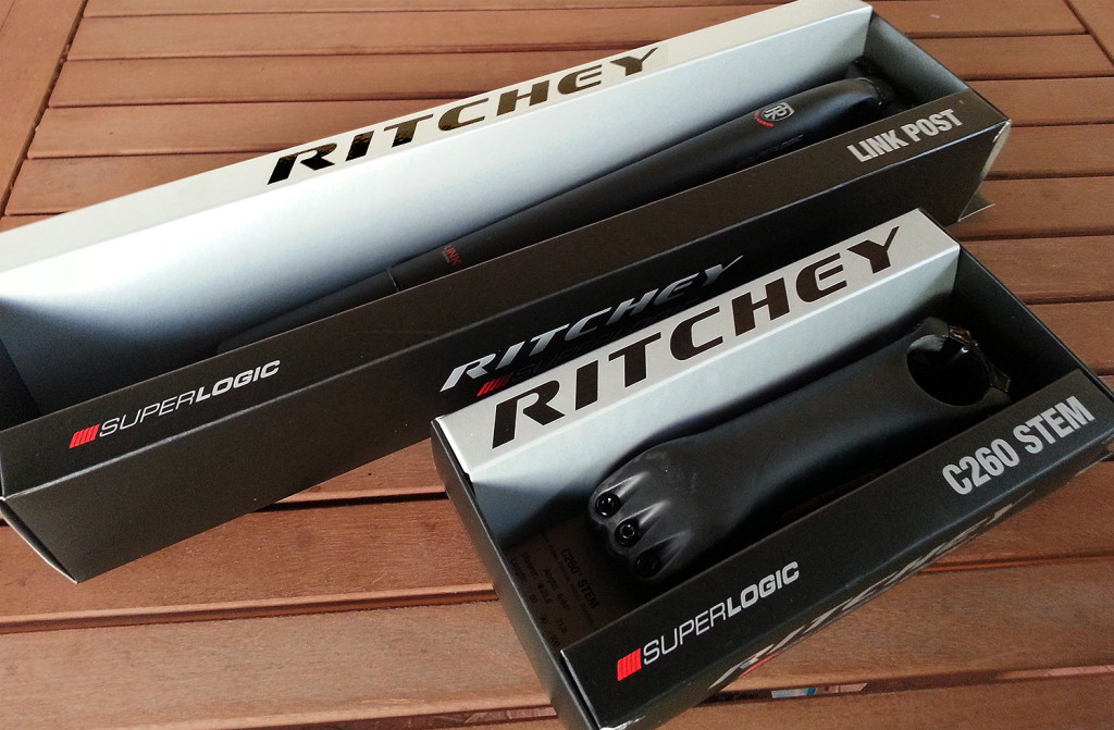 Ritchey seatpost and stem