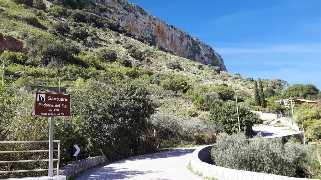 At the sanctuary of Madonna del Furi