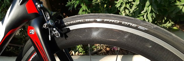 Testing the Schwalbe Pro One tires