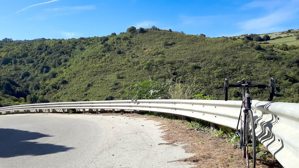 My Ridley Helium SL in one of the hairpins