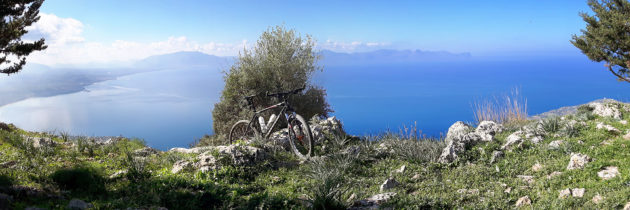 MTB ride to the top of Monte Palmeto
