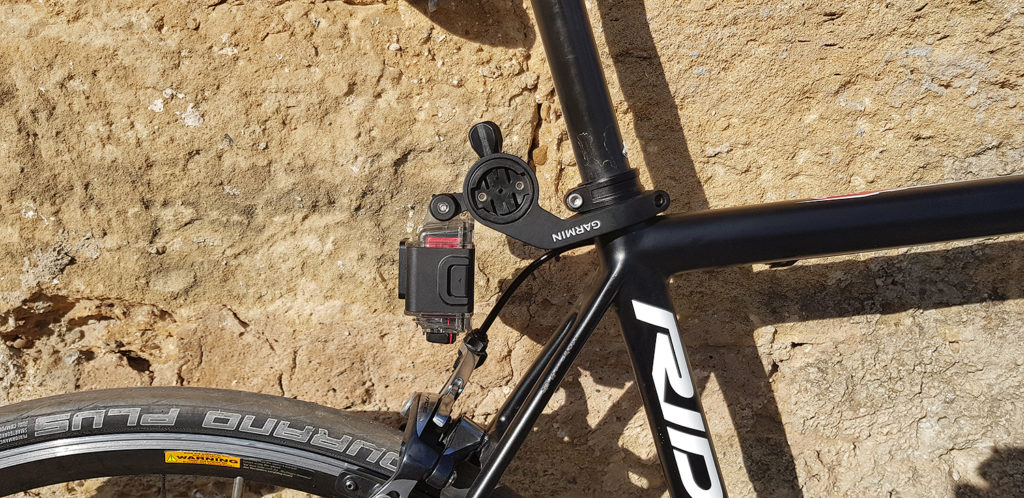 The Garmin combo mount MacGyver solution